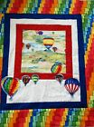 Up in the Air Fabric Hot Air Balloon Quilt Kit Backing and Binding Included