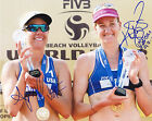 Kerri Walsh Jennings April Ross Autograph Signed Photo Volleyball Olympics