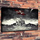 Modern Painting Print on Canvas Sta Wars Stormtrooper Flag Home Wall Decor 16x24