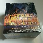 Star Wars: Revenge Of The Sith TOPPS Movie Cards Hobby Box 36-pack SEALED NEW