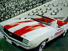 1969 CHEVY CAMARO SS 350 CONVERTIBLE PACE CAR VINTAGE AD print poster picture RS