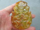 Old Chinese antique Jade hand-carved beast Statue C170