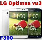 Unlocked Original LG Optimus Vu 3 III F300 F300L Android WIFI GPS 52 13MP 4G