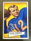 1952 BOWMAN LARGE #126 STEVE ROMANIK SP CENTERED CHICAGO BEARS BV $300