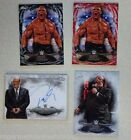 BROCK LESNAR PAUL HEYMAN 2015 Topps WWE Undisputed ON Card AUTOGRAPH BLACK AUTO