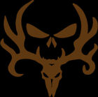 Bone Collector Deer Punisher Skull Decal Sticker Vinyl - Car Window Wall Decor