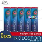 5 x Wella Koleston Perfect Haarfärbemittel Hair Color Dye 60g Vibrant Reds