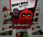 2016 ANGRY BIRDS THE MOVIE DOG TAGS SEALED BOX OF (24) PACKS