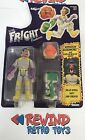 KENNER THE REAL GHOSTBUSTERS FRIGHT FEATURES WINSTON ZEDDEMORE FIGURE CARDED