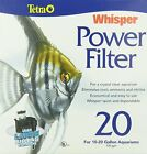 Fish Aquariums Filters Tetra Whisper Power Filter 20, 40 or 60 Gallons