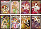 8 WOMEN FANTASY GODDESS HANG GIFT TAGS FOR SCRAPBOOK PAGES 06