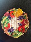 Fitz and Floyd - Autumn Bounty Canape Plate 9.5