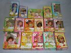 Vintage Strawberry Shortcake Doll Lot Complete With Boxes Dancin PVC Kenner