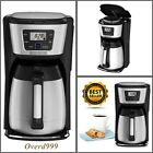 Coffee Maker 12 Cup Thermal Carafe Programmable LCD Display Auto Brew Shutoff