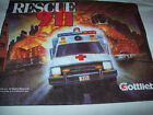 GOTTLIEB RESCUE 911 ORIGINAL FACTORY PINBALL MACHINE NOS T-SHIRT SCARCE 1994