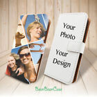 Custom Photo Leather Case Flip Cover for Apple iPhone X 8 7 7 Plus Personalized