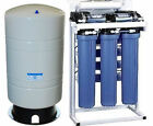 Reverse Osmosis Water Filtration System 800 GPD - Dual Booster Pump - 20 G Tank