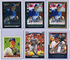 2007 2008 CLAYTON KERSHAW Bowman Draft Chrome Upper Deck 12 Card Rookie RC Lot