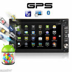 Android4.4 Double 2 Din Car Stereo GPS DVD Player 6.2 Bluetooth Radio 3G WiFi
