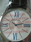 REDUCED! - Men's Stuhrling Ascot Solei Ultra Slim Silver Easy To Read Dial Watch