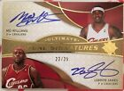 2008-09 Ultimate Collection Lebron James Mo Williams Dual Auto Non Patch 25!