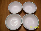 Corelle Corning 4 Pc Lot Country Cottage Cereal / Soup / Pasta Bowls