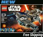 LEGO STAR WARS 75147 STAR SCAVENGER 4 MINIFIGURES NEW/SEALED Free Shipping