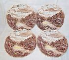 Johnson Brothers Olde English Countryside China - 4 bread & butter plates 6.25
