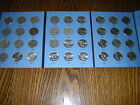 Franklin Silver Half Complete Collection Set, 35+ 1 COINS 1958-1963 P.D.S.FOLDER