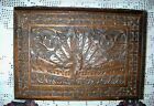 Antique/Vintage Hand Carved Teak Peacock Jewelry Box !! Beautiful!!