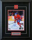 Brendan Gallagher Montreal Canadiens Signed Framed 8x10