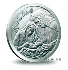 2014 999 fine silver oz Joy to the World Christmas nativity