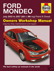 Haynes Ford Mondeo 03-07 Petrol Diesel Manual NEW 4619