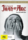 The Passion of Joan of Arc NEW PAL Arthouse DVD C Theodor Dreyer M Falconetti