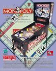 MONOPOLY By STERN 2001 ORIGINAL NOS PINBALL MACHINE  PROMO SALES FLYER