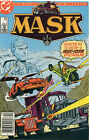 DC Mask #1 Comic Book 1985 Kenner Toy Line TV Show Newsstand Edition HTF - NM