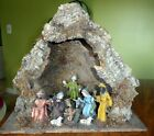 VINTAGE NATIVITY SET CRECHE MADE IN ITALY