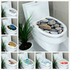 Removable Bathroom Toilet Seat Wall Sticker Vinyl Decal Wallpaper DIY Decor