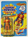 RED TORNADO Action Figure 1985 Super Powers 23 Back UNPUNCHED Series 2 Kenner