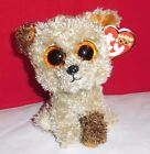 Ty Beanie Boos ROOTBEER the Dog Sparkle Glitter Eyes 6