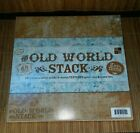 Old World Stack 12x12 Textured Cardstock Stack by DCWV NEW Scrapbooking Crafts