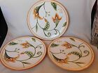 FITZ & FLOYD GRAND HAVEN FLORAL Set of (3) 8-5/8