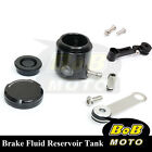 For Kawasaki Ninja 636 ZX-6R 02-06 Black CNC Front Brake Cylinder Fluid Oil Tank