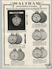 1930 PAPER AD Howard Pocket Watch Waltham Riverside Colonial A Maximus Opera
