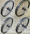 Wheel 20 variations BMX Front or 9T or Flip Flop Rear Double Walled Rims New