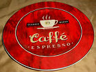Red Sakura COFFEE BREAK Caffe Espresso Dessert PLATE