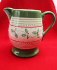 Pfaltzgraff Circle of Kindness Christmas  Pitcher Jana Kolpe Mary Tiegreen 2007