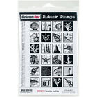 Darkroom Door Cling Stamps 7X5 Seaside Inchies Pk 1 Darkroom Door