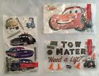EK Success Disney CARS Stickers LIGHTNING MCQUEEN MATER SHERIFF and more