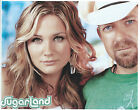 SUGARLAND 8 X 10 PHOTO WITH ULTRA PRO TOPLOADER
